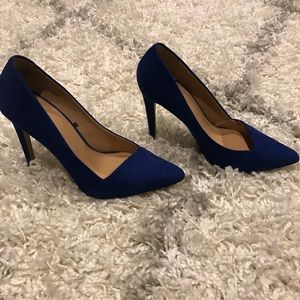 Express Royal Blue Heels